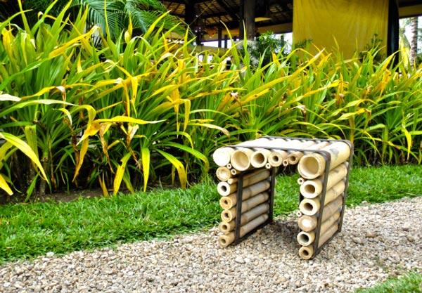 Bamboo Chair par Lambert Roudil