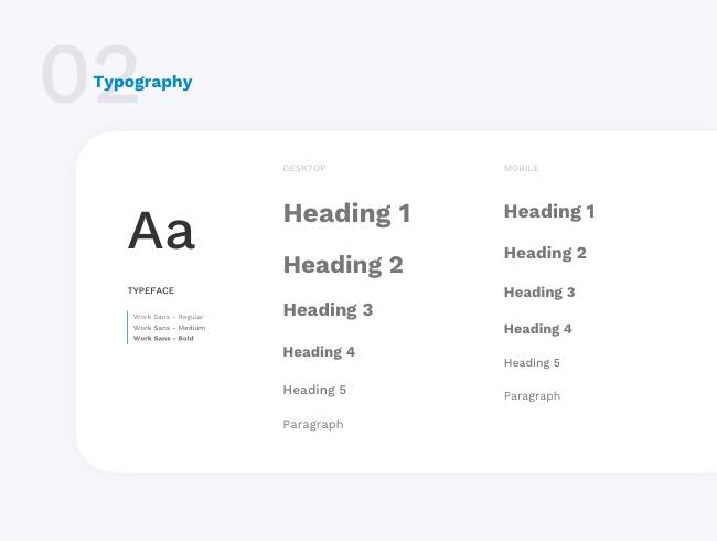 Typographies du site de cashback Poulpeo